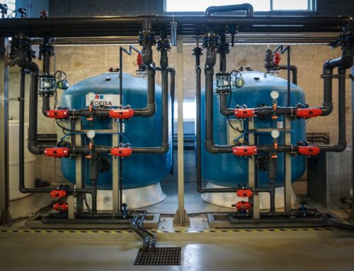 Wastewater treatment plant operation at Coca Cola Iceland