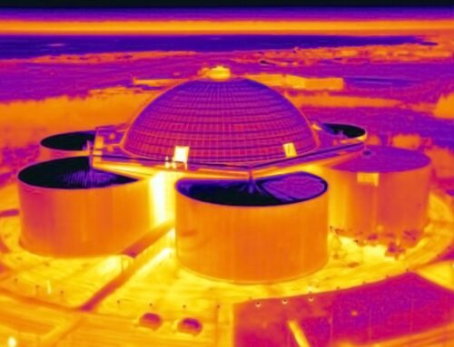 Thermal inspection of Perlan
