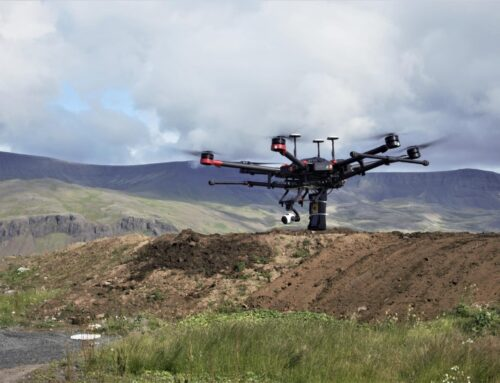 Mapping landfill methane emissions with UAV